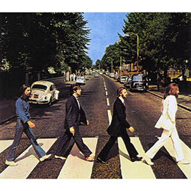 The Beatles - 'Abbey Road' released 1969.