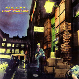 David Bowie - 'The rise and fall of Ziggy Stardust and the Spiders from Mars' released 1972.