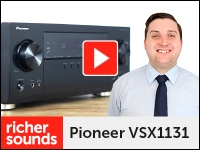 Product video: Pioneer VSX1131 AV receiver