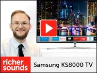 Product video: Samsung KS8000 TV range