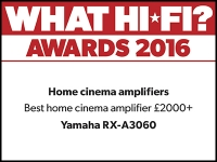 What Hi-Fi? Awards 2016 winner: Yamaha RXA3060 AV receiver