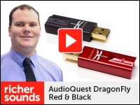 Product video: Audioquest Dragonfly Red & Black USB DACs