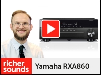 Product video: Yamaha RXA860 AV receiver