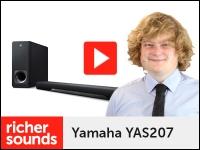 Product video: Yamaha YAS207 TV soundbar